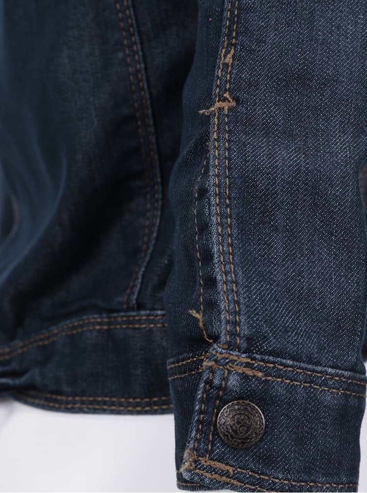 Tmavě modrá holčičí džínová bunda name it Boline
