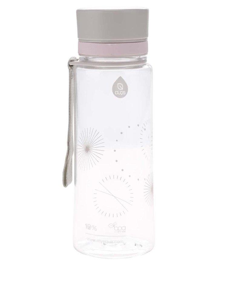 Plastová láhev s čárkovaným potiskem EQUA (600 ml)