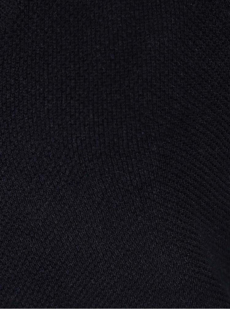 Tmavě modrý svetr s véčkovým výstřihem ONLY Algier