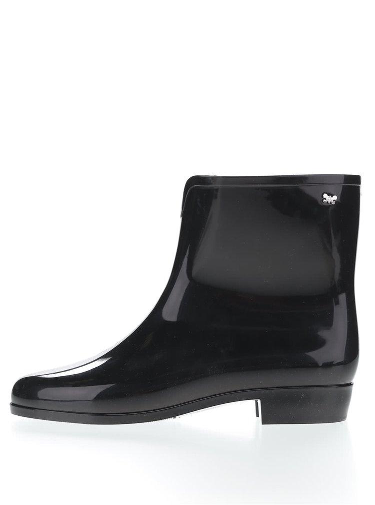Čierne gumáky Zaxy Boot II