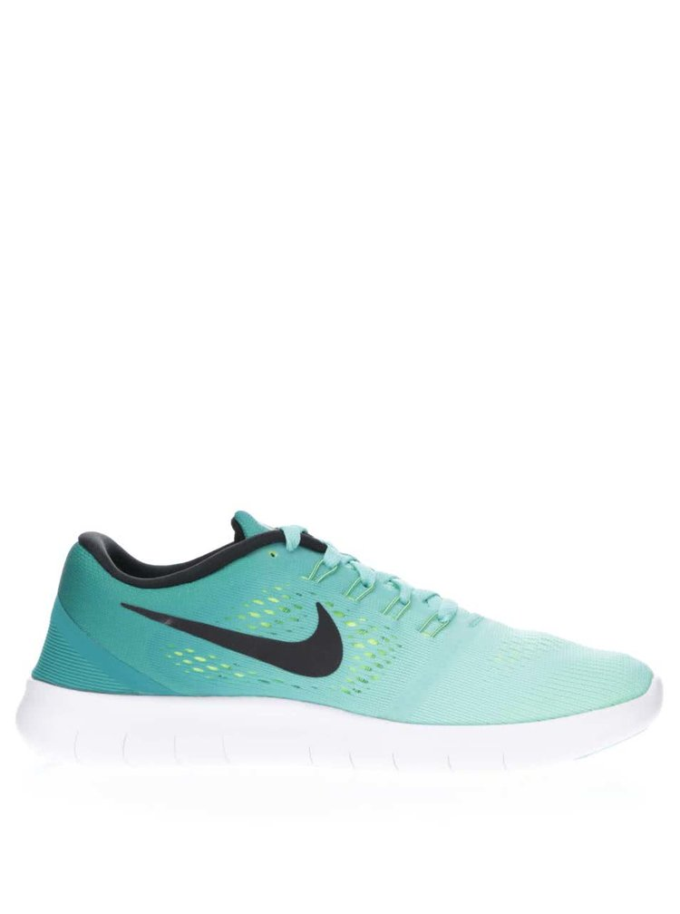 Tyrkysové dámské tenisky Nike Free RN