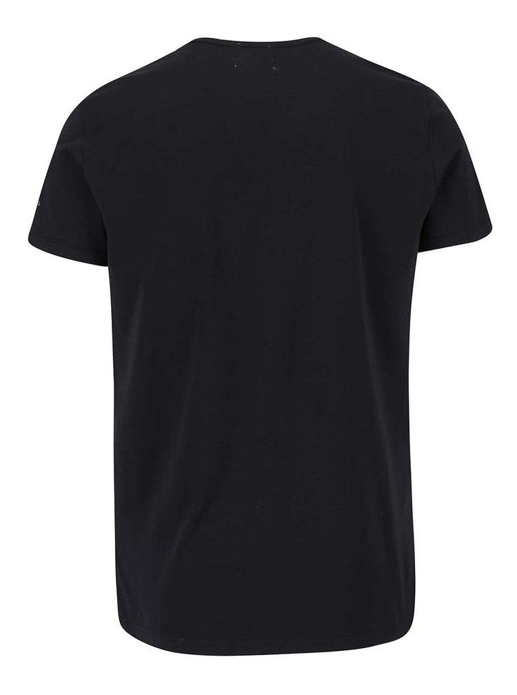 Čierne pánske tričko Pepe Jeans Original basic