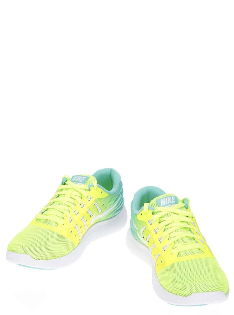 Žlté neónové dámske tenisky Nike Lunarstelos