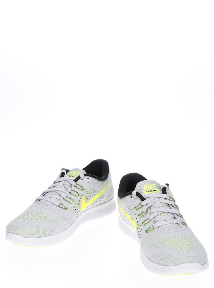 Pantofi sport gri deschis Nike Free RN