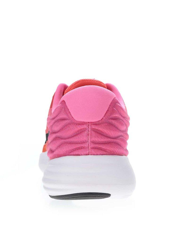 Pantofi sport roz neon Nike Lunarstelos