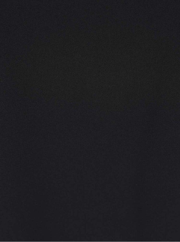 Čierna blúzka s tenkými ramienkami ONLY Ayline