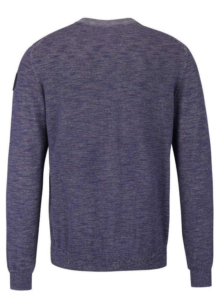 Bluza albastra cu fermoar s.Oliver
