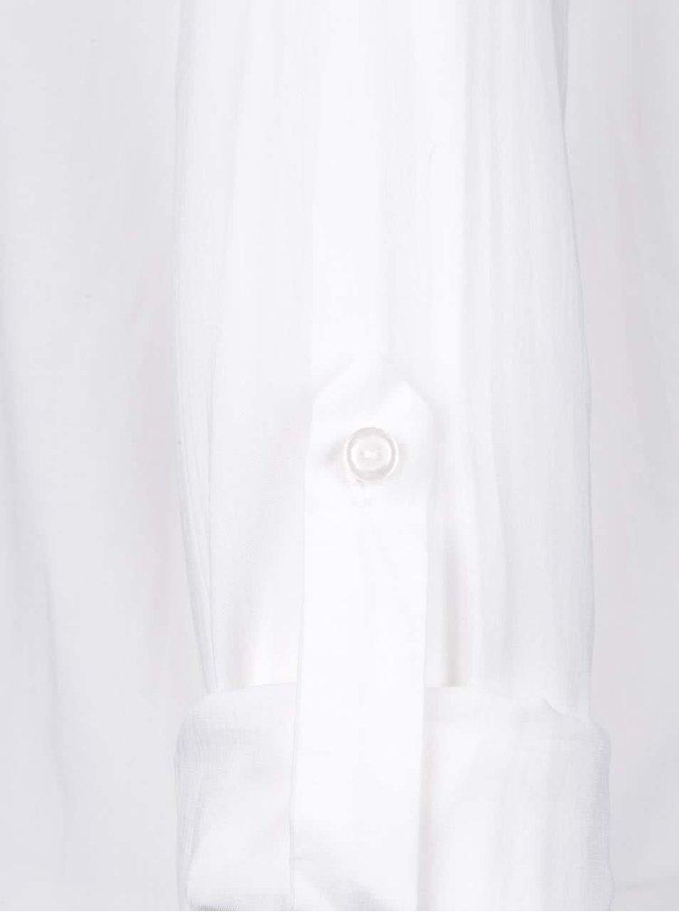 Biela košeľa s volánikom Miss Selfridge