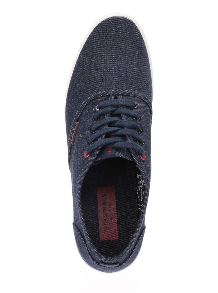 Tenisi bleumarin din denim Jack & Jones Spider