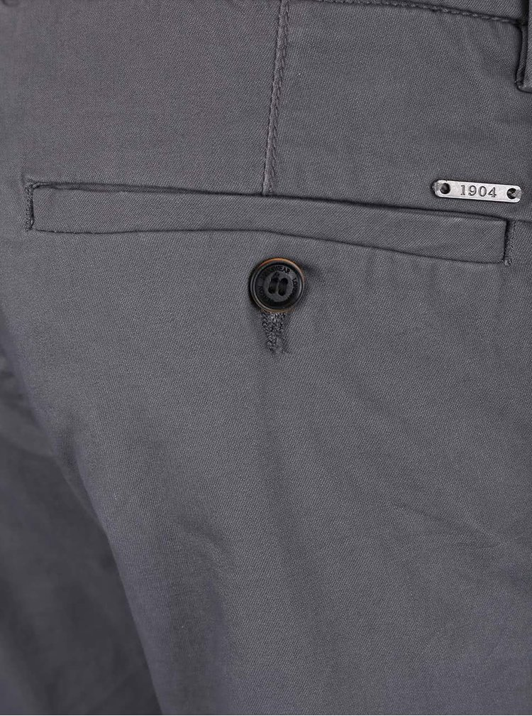 Tmavě šedé slim chino kalhoty Burton Menswear London