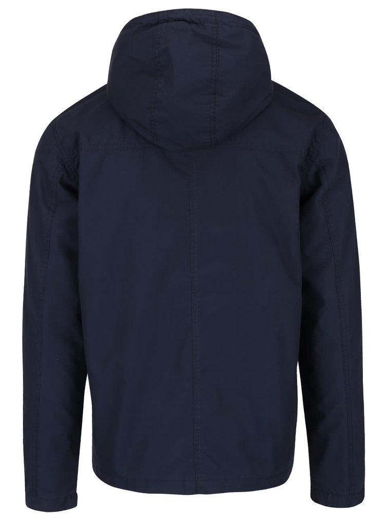 Tmavě modrá šusťáková bunda Jack & Jones Originals