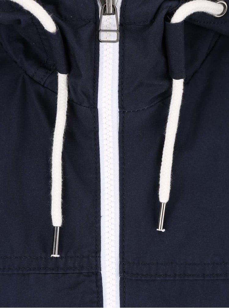 Jachetă bleumarin Jack & Jones Originals cu detalii reflectorizante