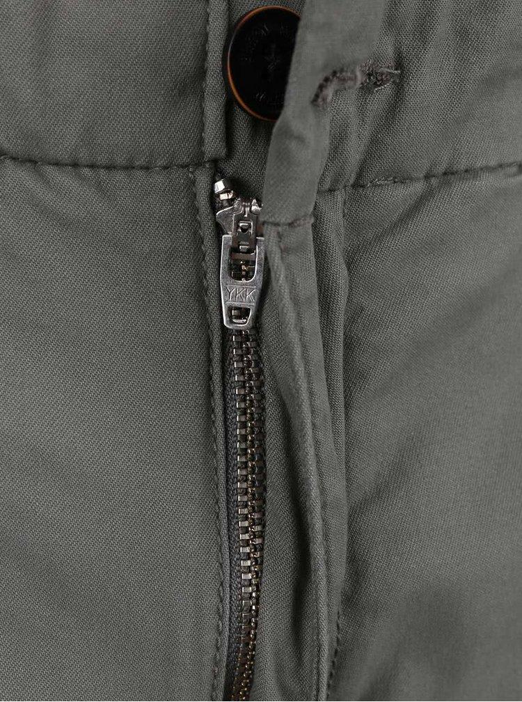 Pantaloni chinos gri slim fit Burton Menswear London