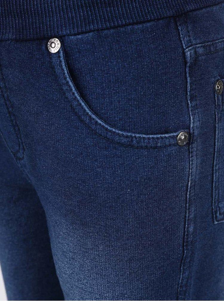Pantaloni bleumarin cu aspect de denim Boboli pentru băieți
