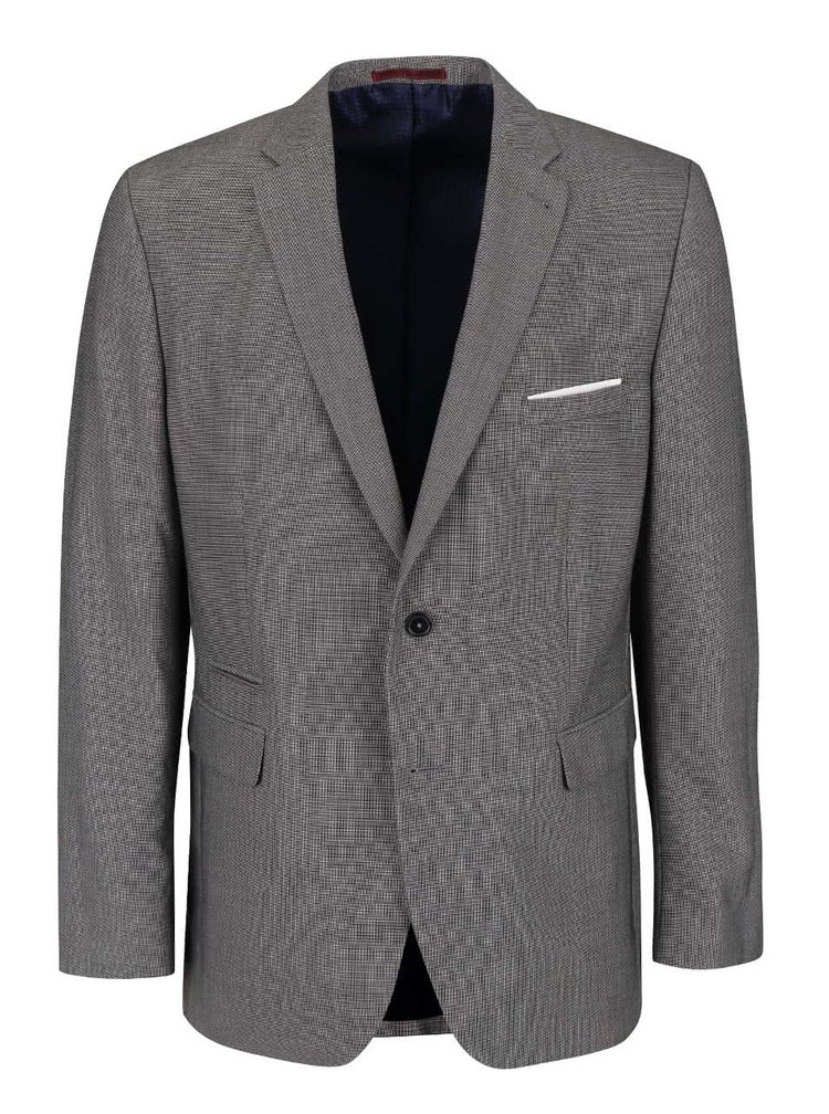 Sivé tailored fit sako Burton Menswear London