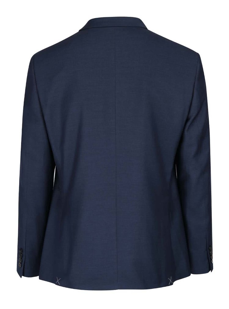 Sacou bleumarin slim fit Burton Menswear London