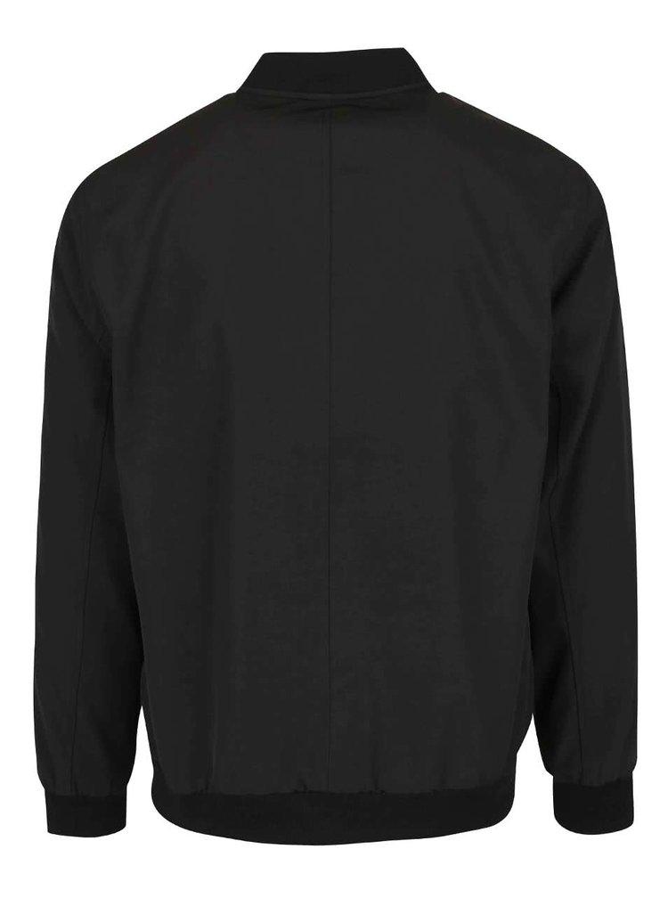Černá bomber bunda Burton Menswear London