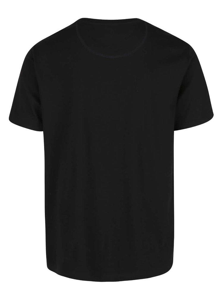 Černé triko s potiskem Burton Menswear London