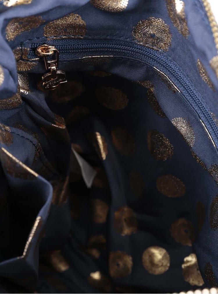 Geanta albastra crossbody Desigual Moscue cu model