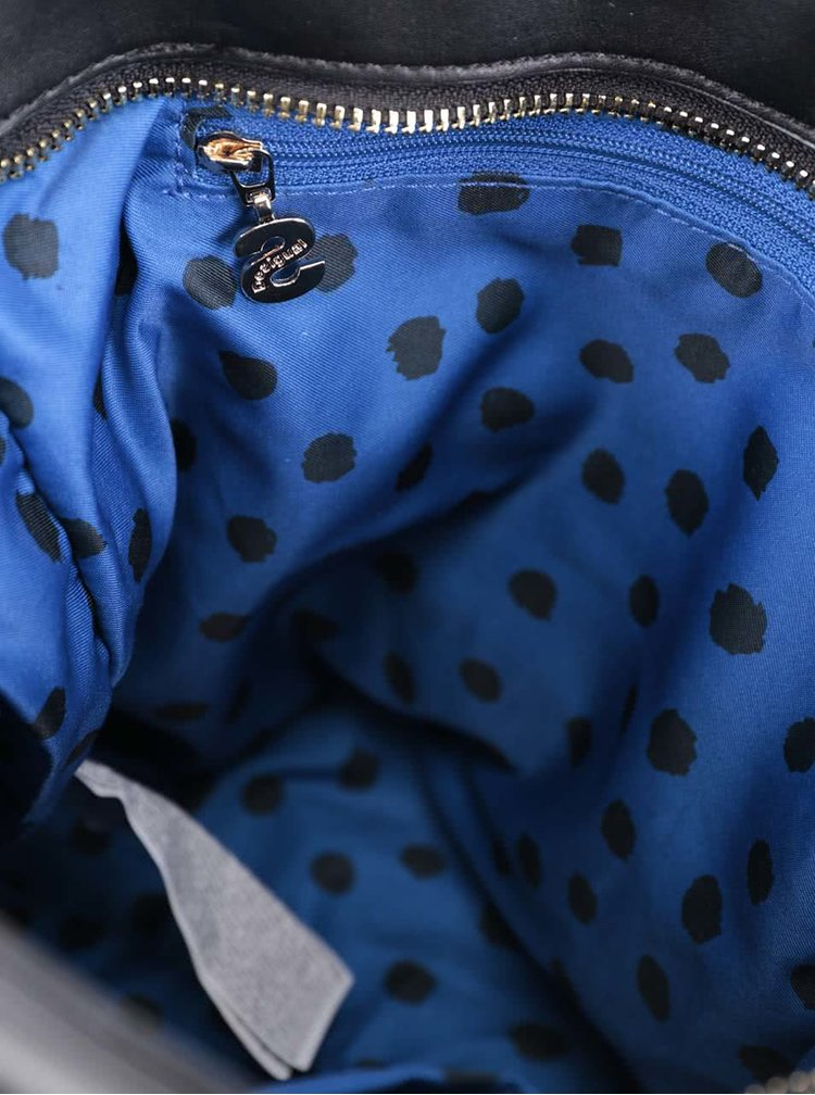 Černá kabelka s odnímatelným popruhem a zlatými detaily Desigual Argentina