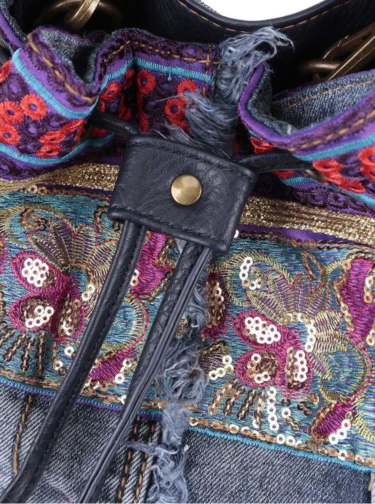 Geantă tip sac Desigual Ethnic Deluxe cu model colorat