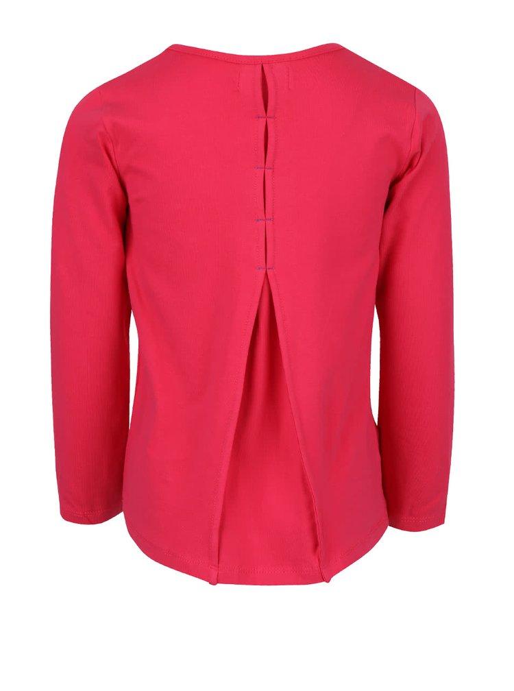 Ružové dievčenské tričko s potlačou najlepších kamarátok Bóboli