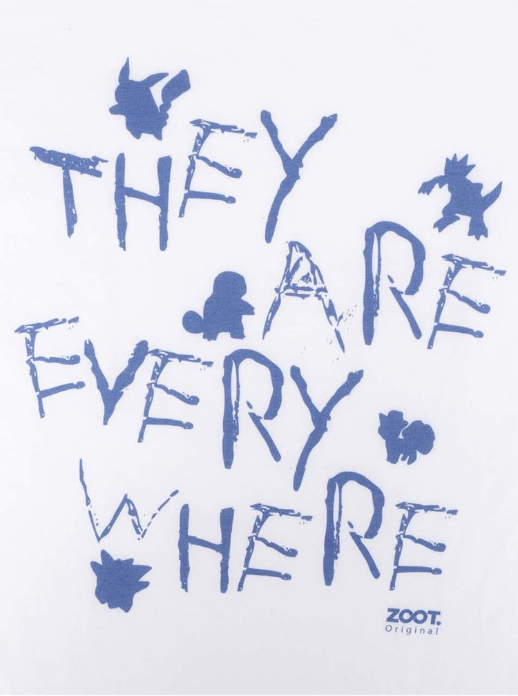 Bílé dámské tričko ZOOT Originál They Are Everywhere