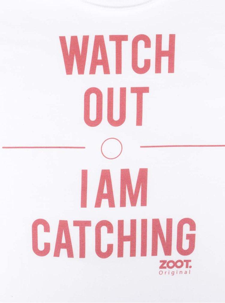 Tricou alb de dama ZOOT Original Watch Out