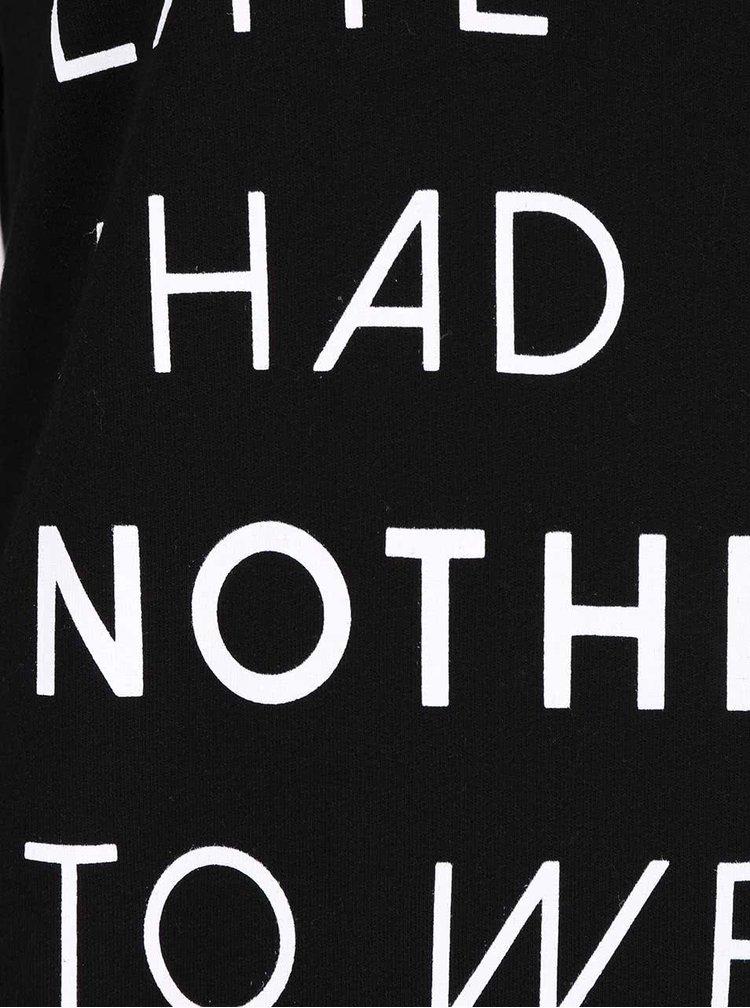 Bluza neagra Dorothy Perkins cu maneca lunga