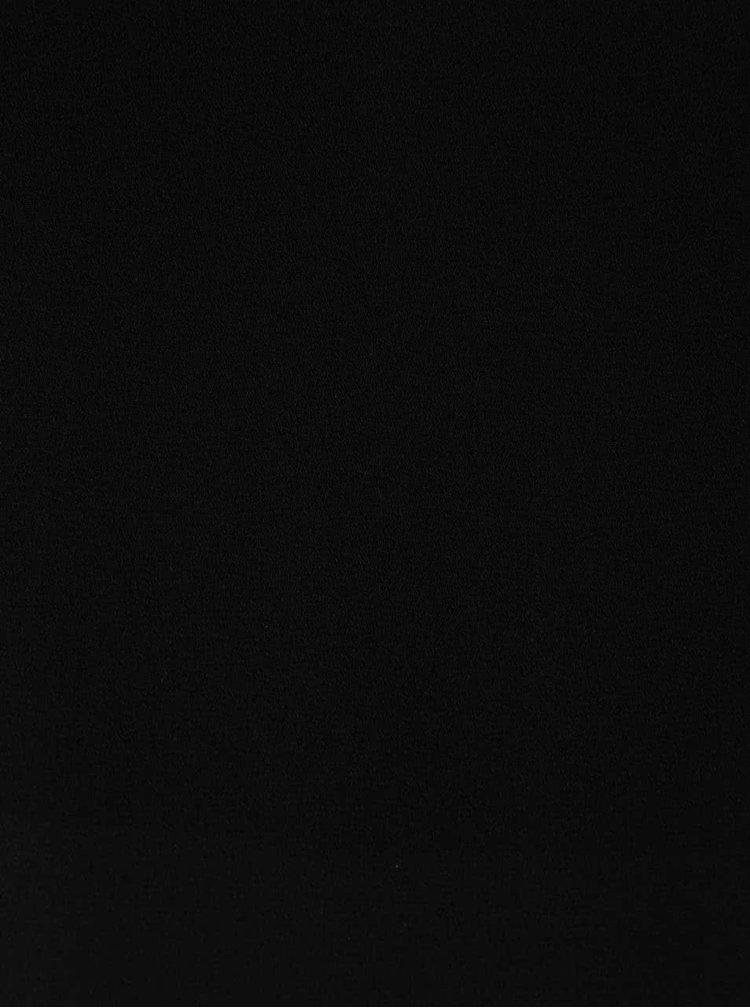 Černá halenka bez rukávů Dorothy Perkins
