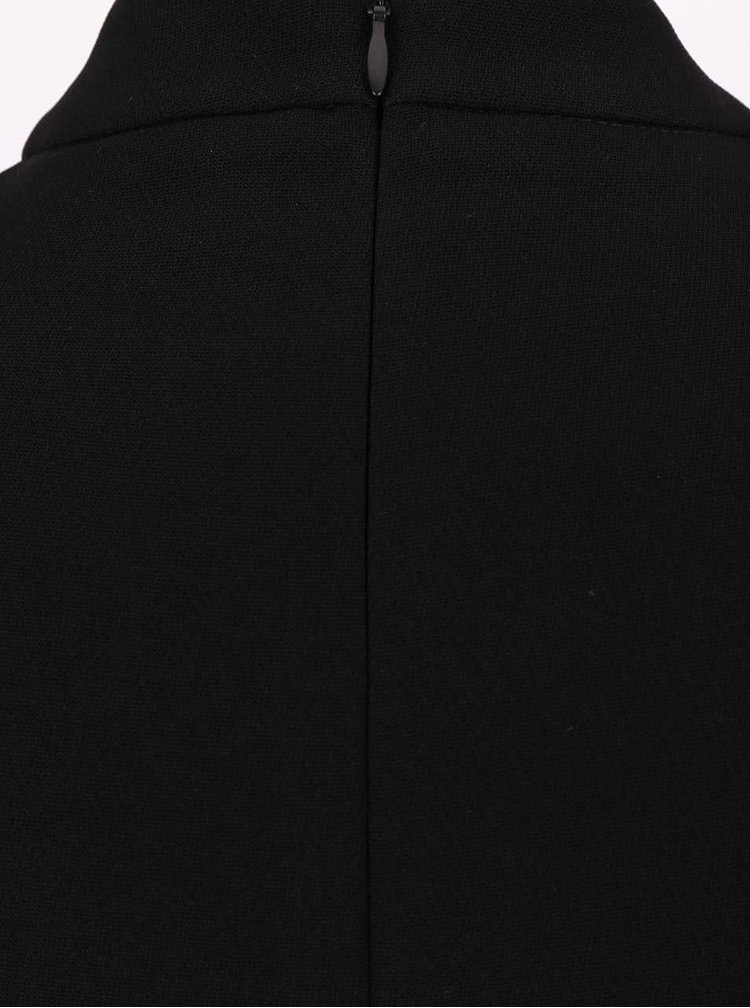 Rochie neagră Dorothy Perkins cu detaliu în talie