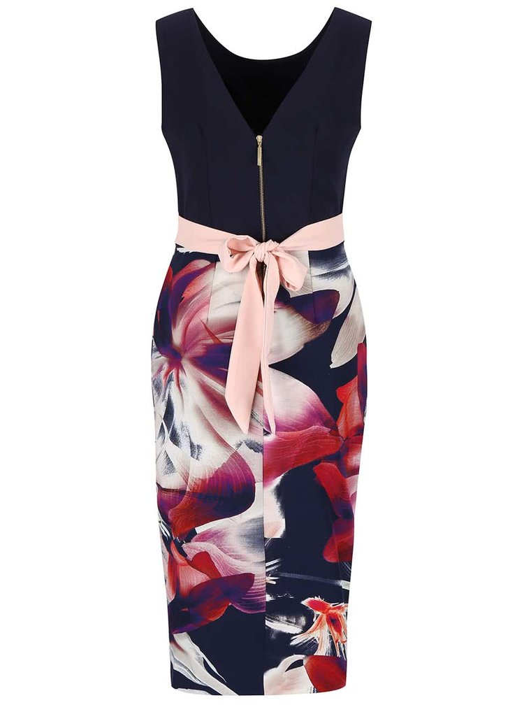 Rochie bodycon Closet cu model floral