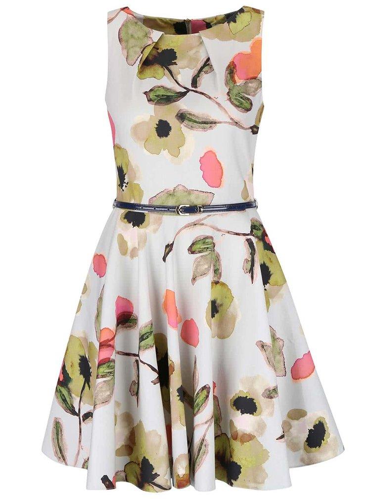 Rochie cu model floral Closet fara maneci