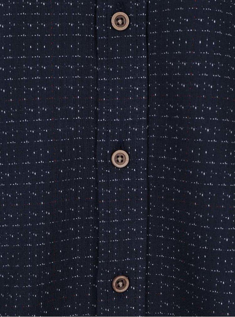 Tmavě modrá košile s drobným vzorem !Solid Dabi