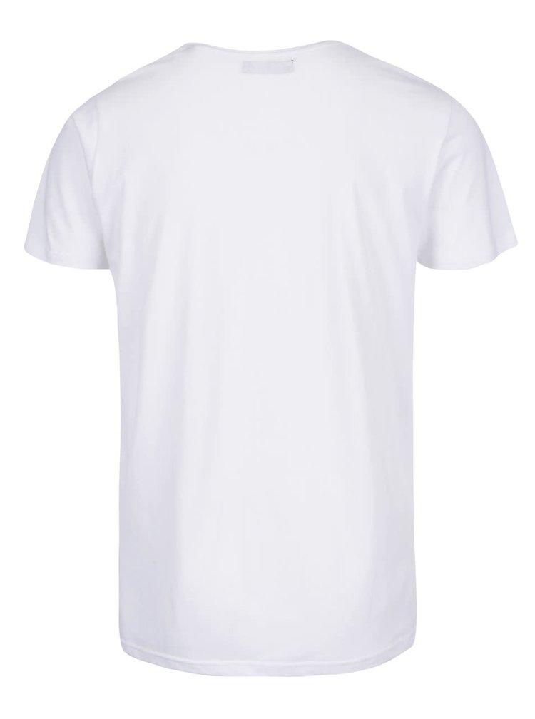 Bílé triko s potiskem !Solid Eliya