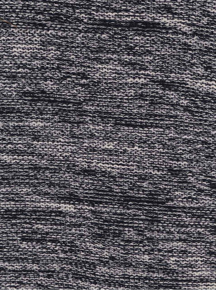 Modro-šedý žíhaný svetr !Solid Duff