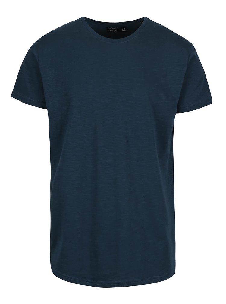 Petrolejové tričko !Solid Rosti