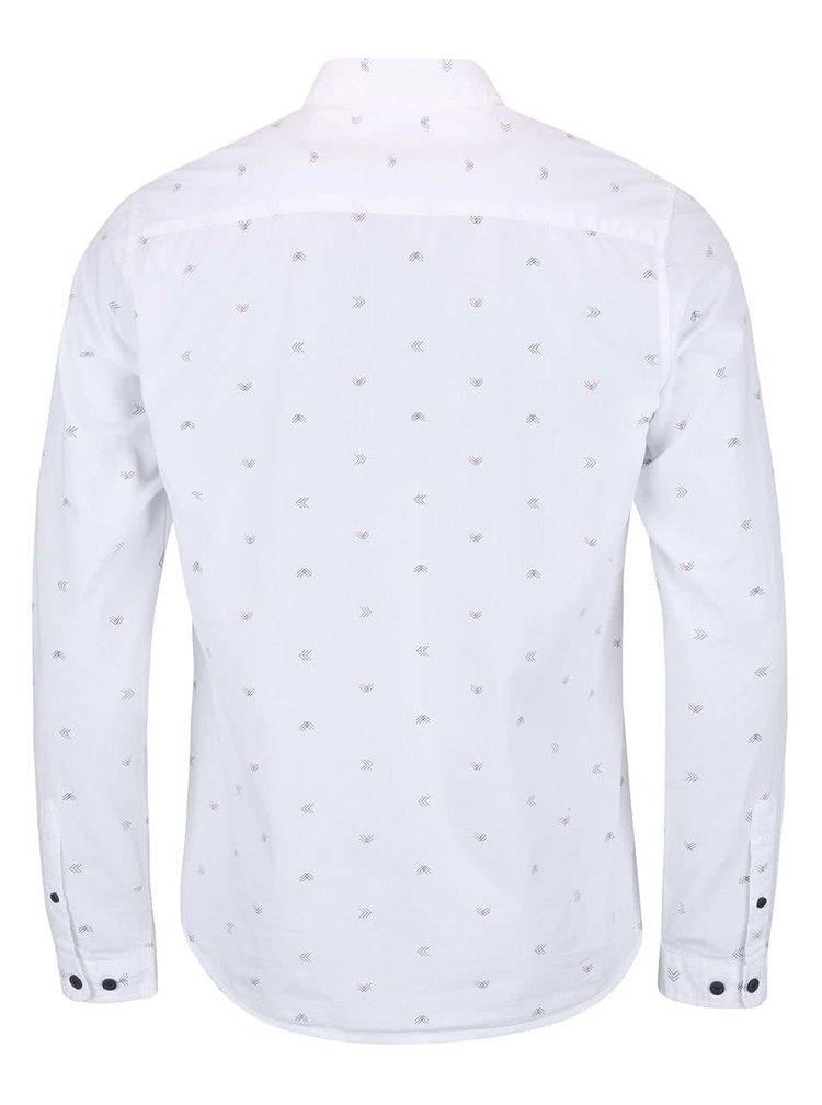 Biela košeľa so vzorom ONLY & SONS Sasben