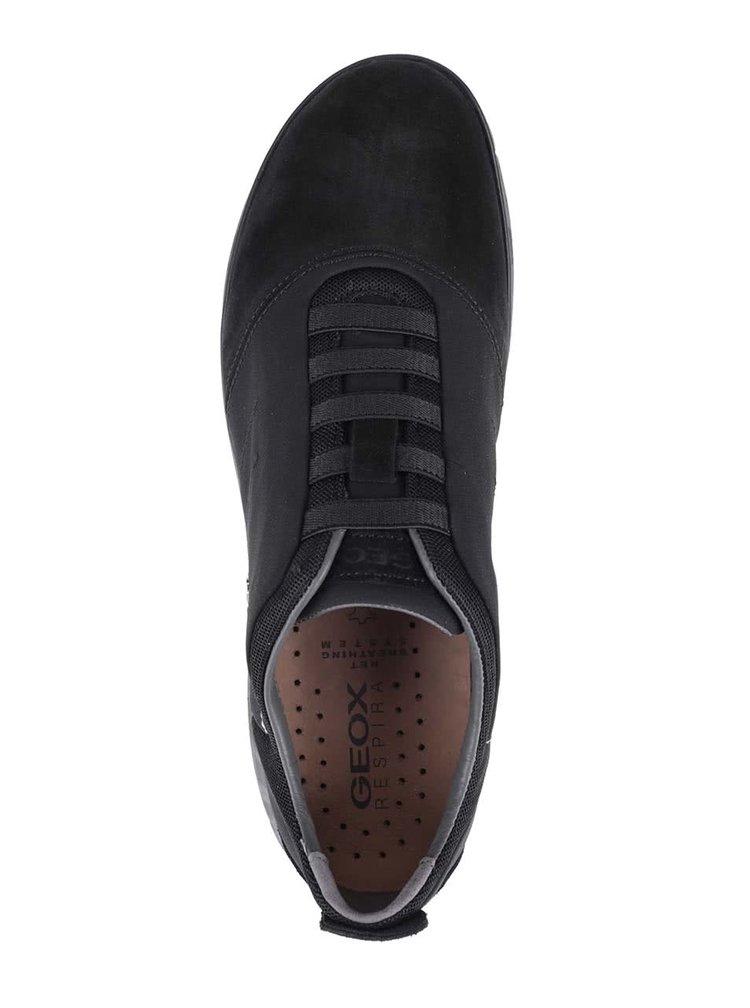 Pantofi sport bărbătești Geox Nebula negri din piele