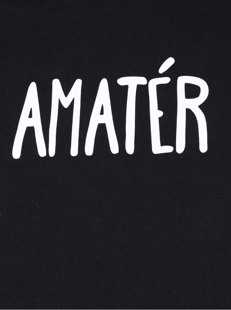 Čierne pánske tričko ZOOT Originál Amatér