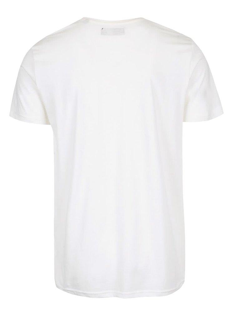 Krémové triko s potiskem !Solid Derry