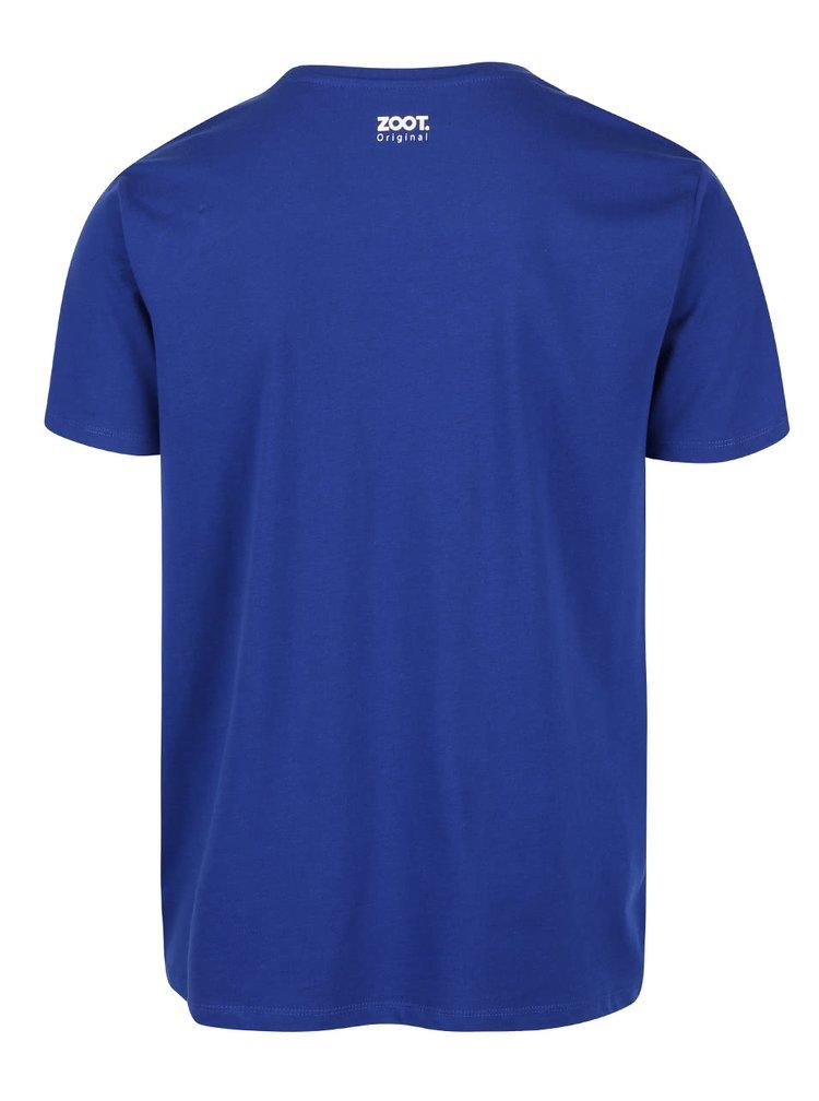 Modré pánské triko ZOOT Originál Spoko