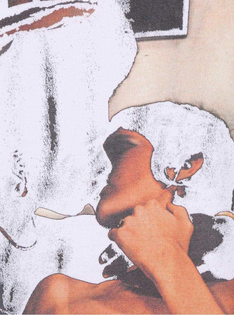 Tricou alb din bumbac organic ZOOT Original Adult Games pentru bărbați