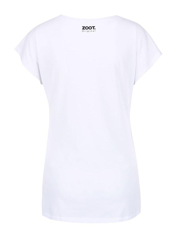 Biele dámske tričko ZOOT Originál Avocado