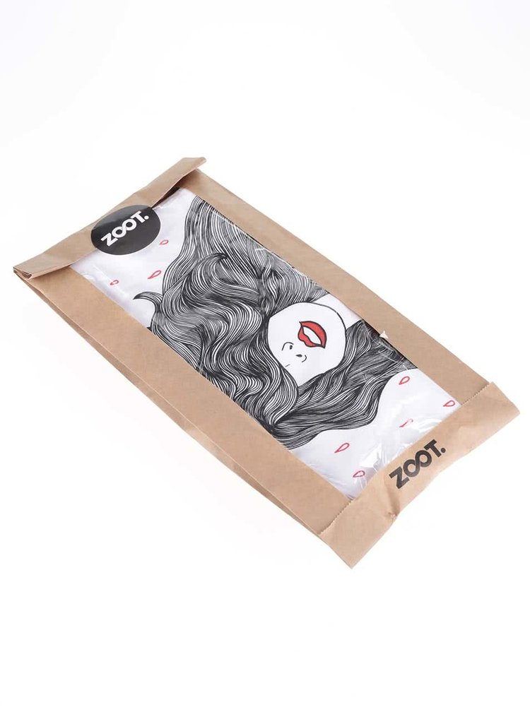 Tricou alb din bumbac organic ZOOT Original pentru femei
