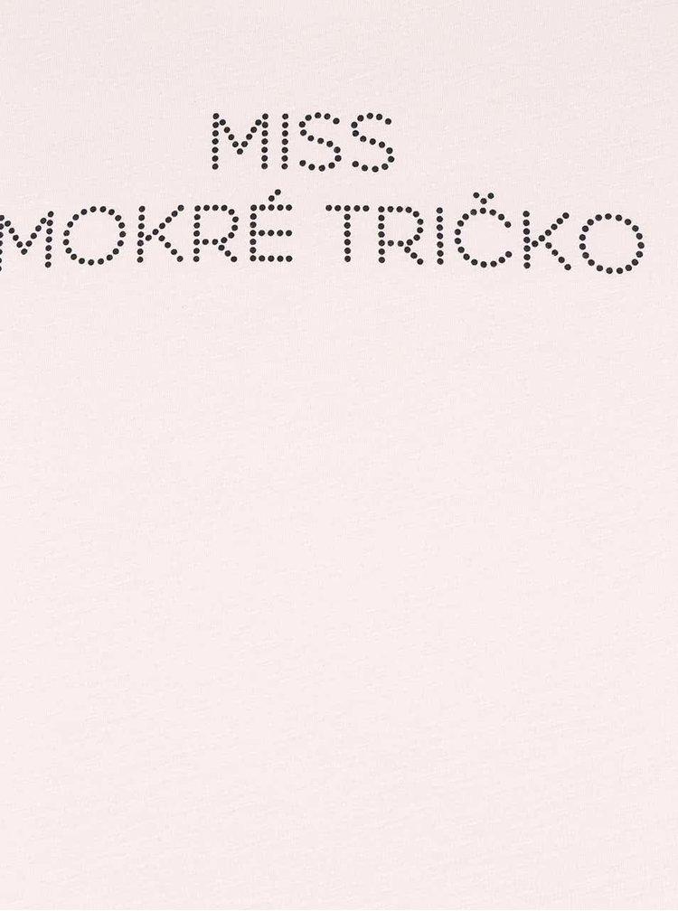 Krémové dámské tričko ZOOT Originál Miss mokré tričko