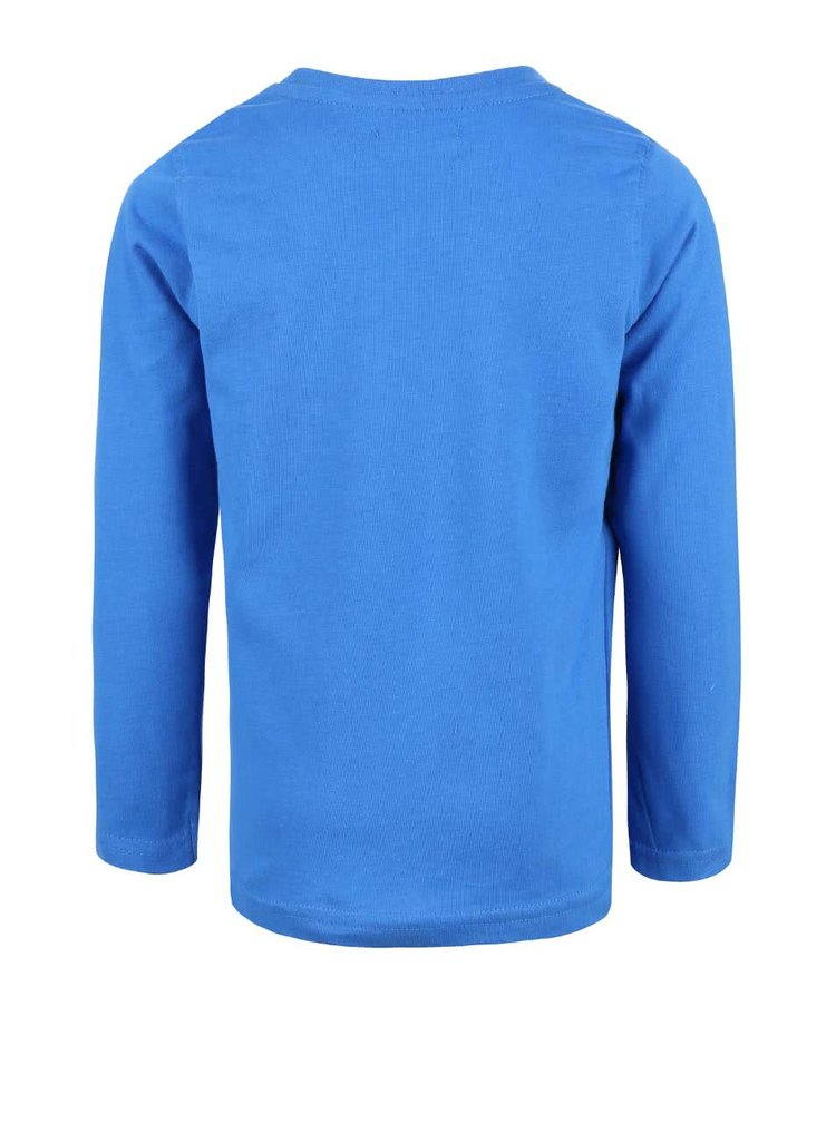 Bluză albastru deschis cu print Blue Seven de băieți