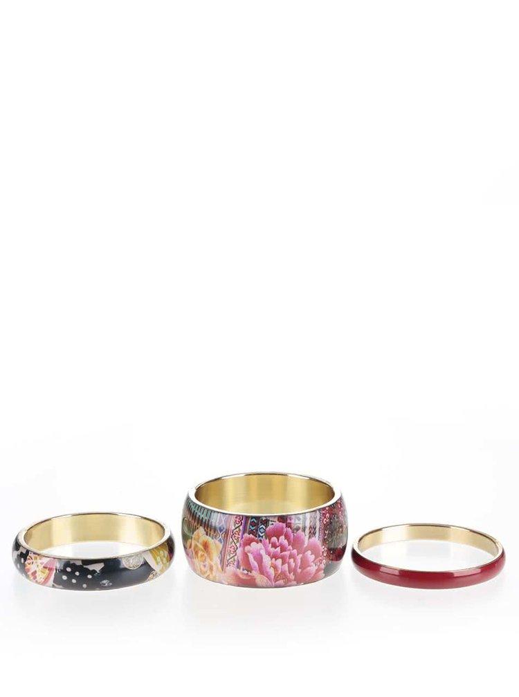 Set cu 3 brățări multicolore Desigual Casilda