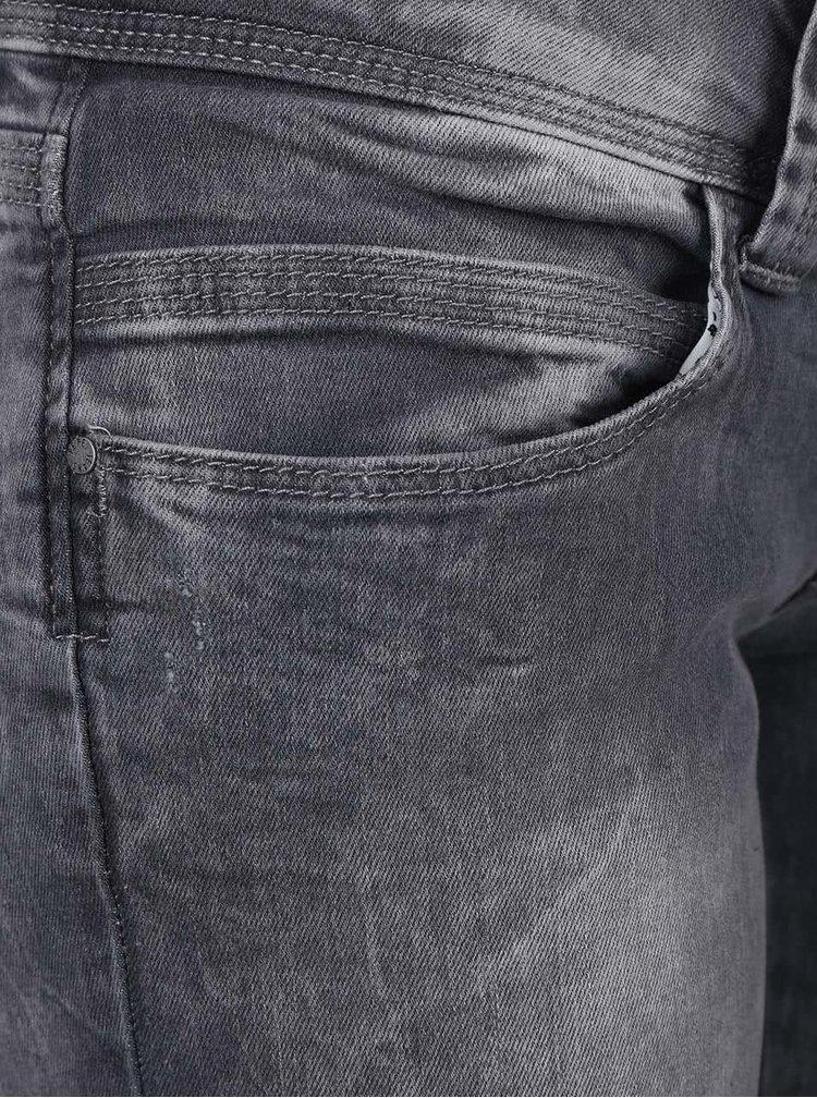 Sivé dámske regular fit rifle s nízkym pásom Pepe Jeans Venus