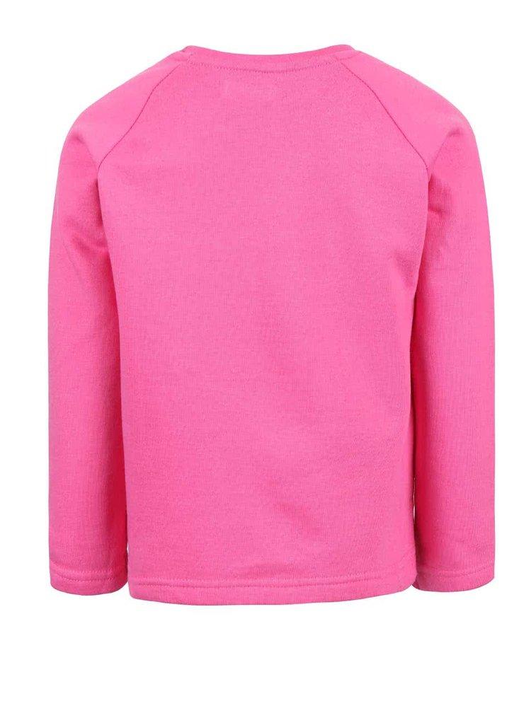 Bluză roz din bumbac Blue Seven pentru fete